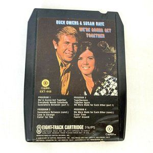 Buck Owens Susan Raye 8-track Tape vintage country